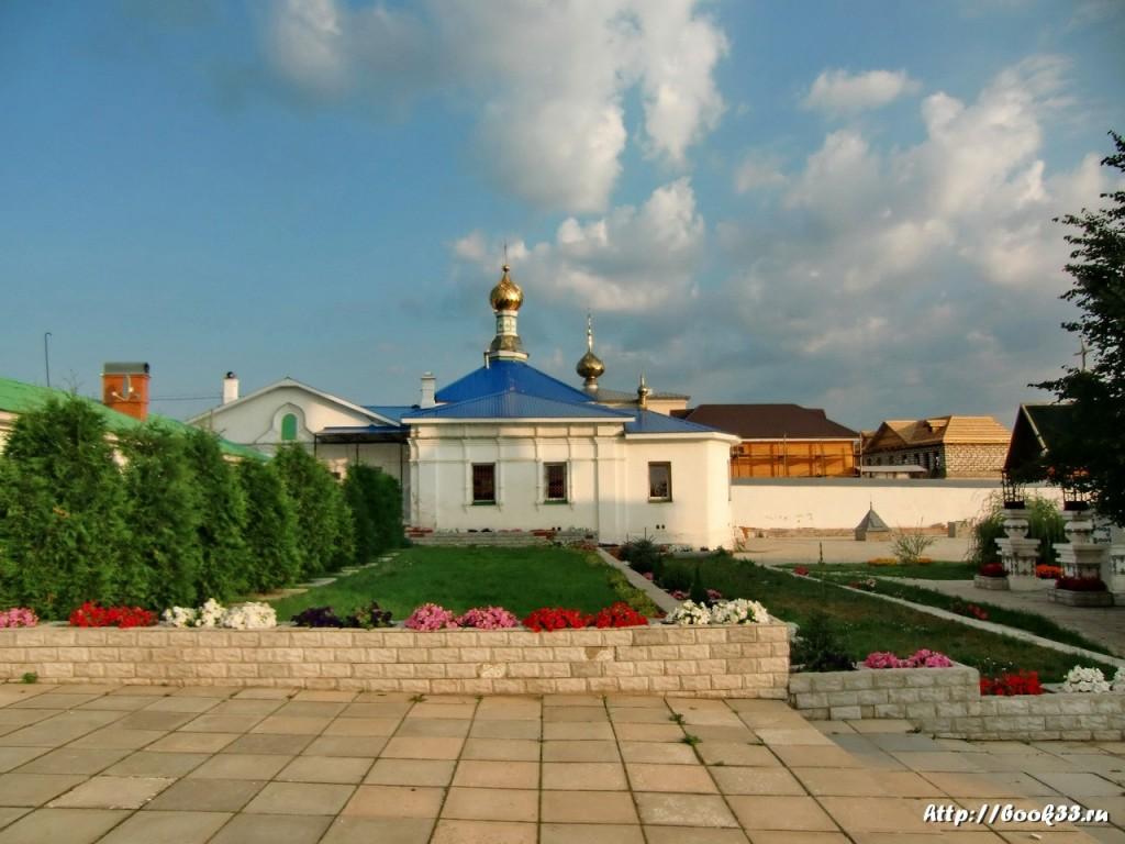 Богоявленский монастырь (Мстёра). Церковь.