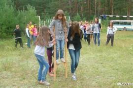 В лагере Спутник. Меленковский район 102