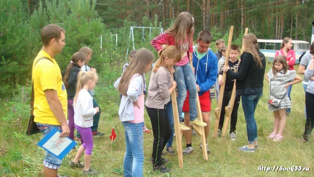 В лагере Спутник. Меленковский район 104