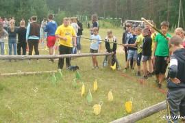 В лагере Спутник. Меленковский район 113