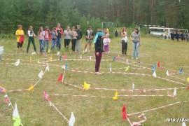 В лагере Спутник. Меленковский район 114
