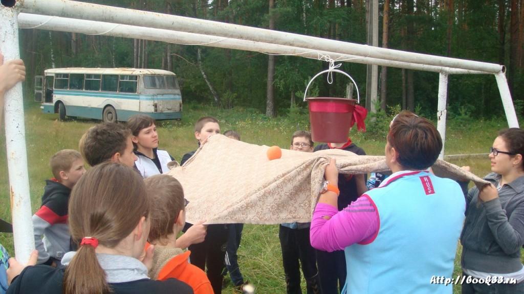 В лагере Спутник. Меленковский район 115