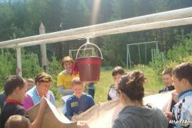 В лагере Спутник. Меленковский район 124