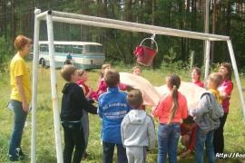 В лагере Спутник. Меленковский район 138