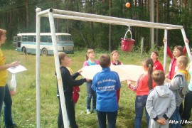 В лагере Спутник. Меленковский район 139