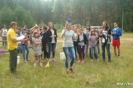 В лагере Спутник. Меленковский район 143