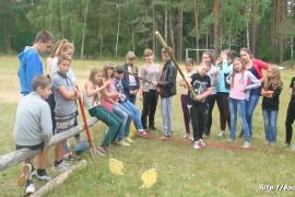 В лагере Спутник. Меленковский район 158