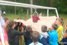 В лагере Спутник. Меленковский район 159