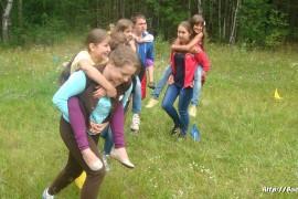 В лагере Спутник. Меленковский район 183