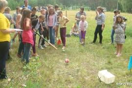 В лагере Спутник. Меленковский район 185