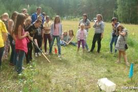 В лагере Спутник. Меленковский район 186