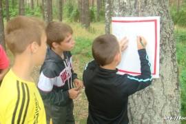 В лагере Спутник. Меленковский район 187