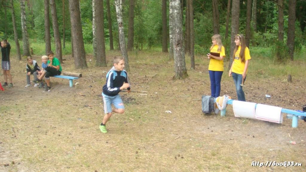 В лагере Спутник. Меленковский район 189