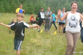 В лагере Спутник. Меленковский район 191