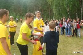 В лагере Спутник. Меленковский район 205