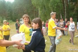 В лагере Спутник. Меленковский район 207