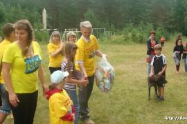 В лагере Спутник. Меленковский район 210