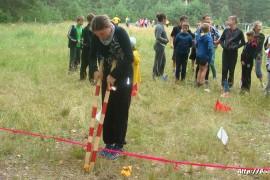 В лагере Спутник. Меленковский район 90