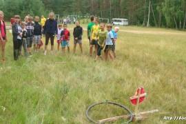 В лагере Спутник. Меленковский район 97