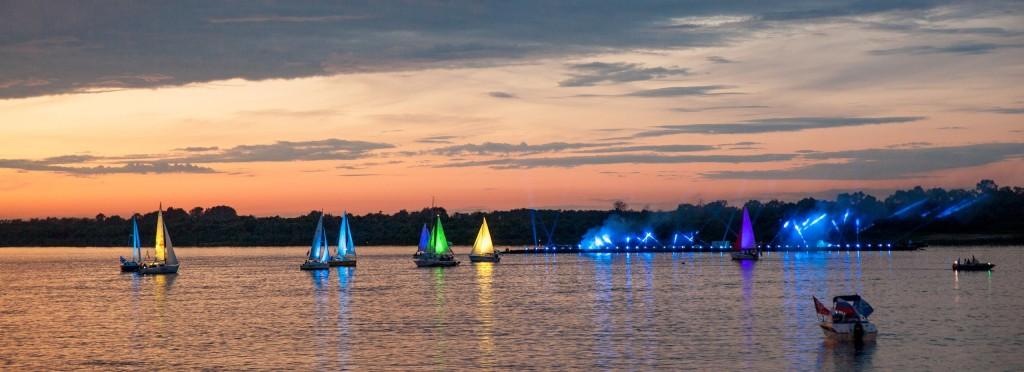 Река Ока 2014 на празднике в День семьи любви и верности в Муроме 03