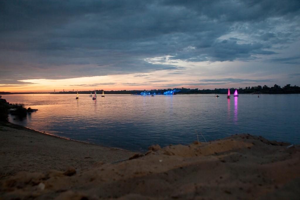 Река Ока 2014 на празднике в День семьи любви и верности в Муроме 04