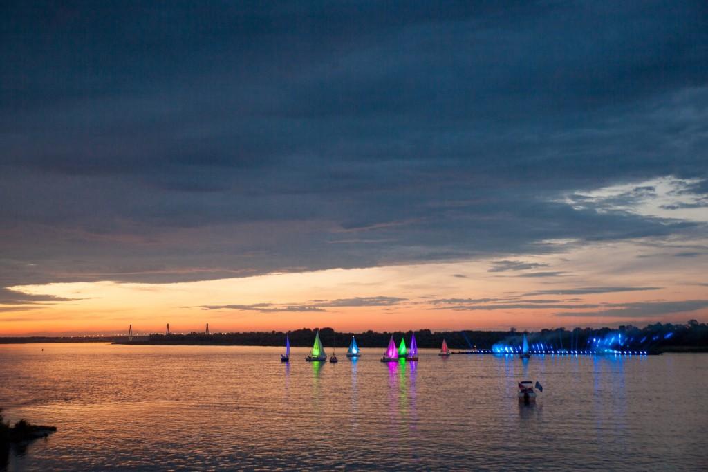Река Ока 2014 на празднике в День семьи любви и верности в Муроме 05