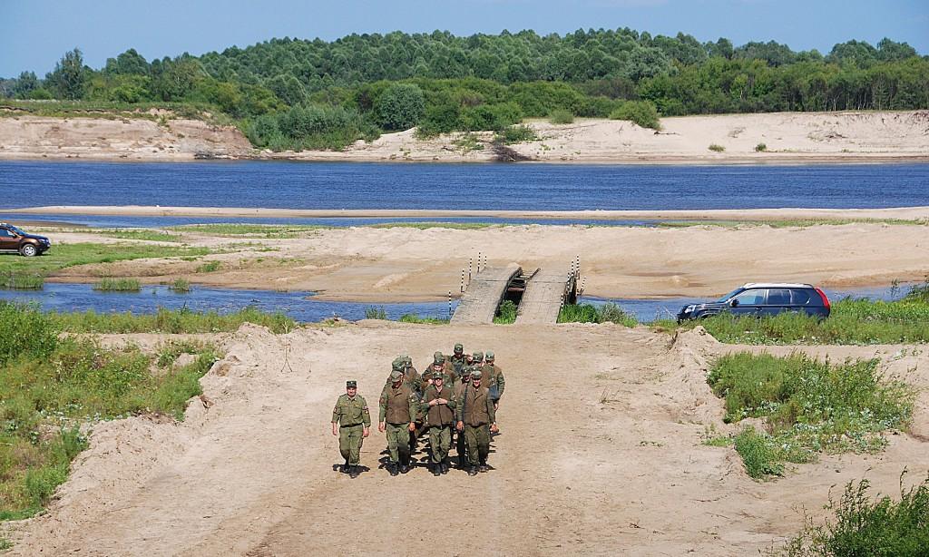 Соревнования понтонно-переправочных подразделений Вооруженных сил РФ 02