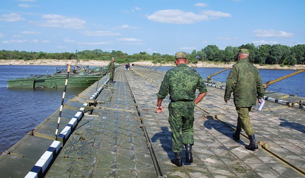 Соревнования понтонно-переправочных подразделений Вооруженных сил РФ 04