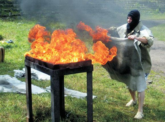 Соревнования по пожарно-прикладным видам спорта на Вербовском (Муром) 2