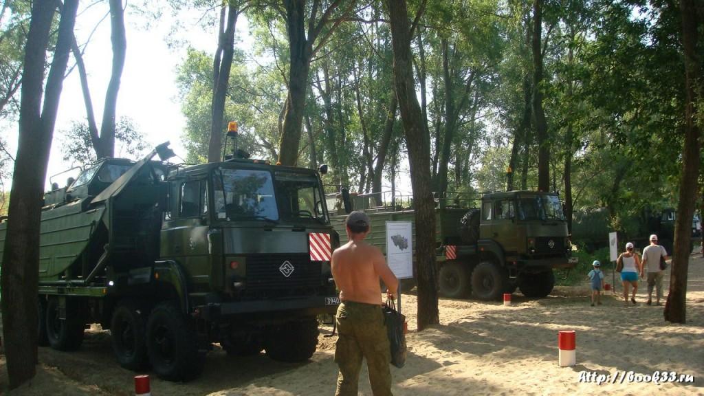 Соревнования тяжелой военной техники в Муроме 340