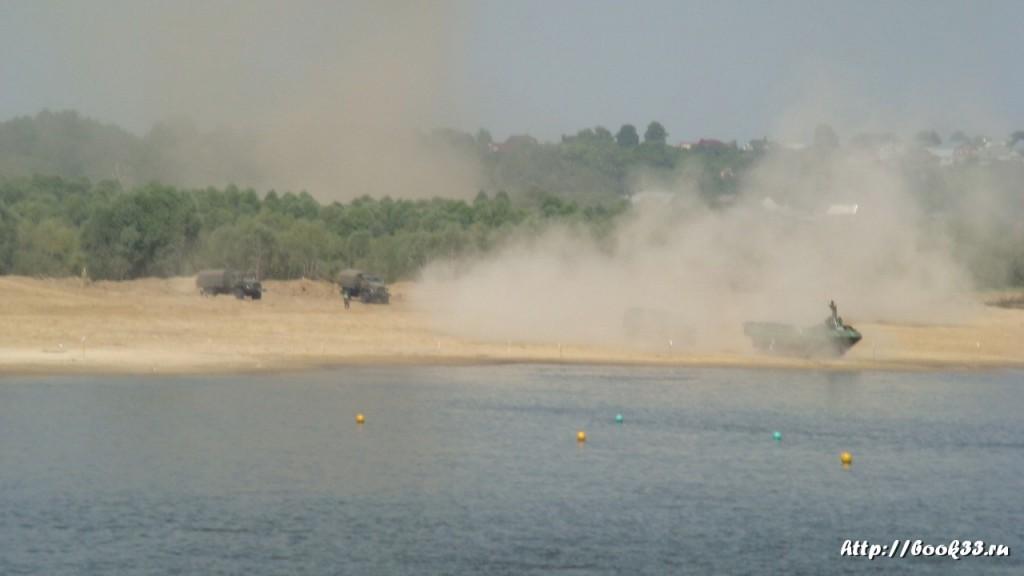 Соревнования тяжелой военной техники в Муроме 385