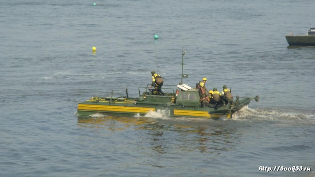 Соревнования тяжелой военной техники в Муроме 395