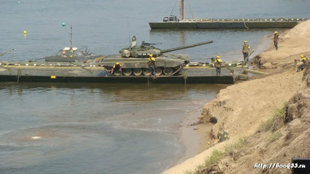Соревнования тяжелой военной техники в Муроме 406