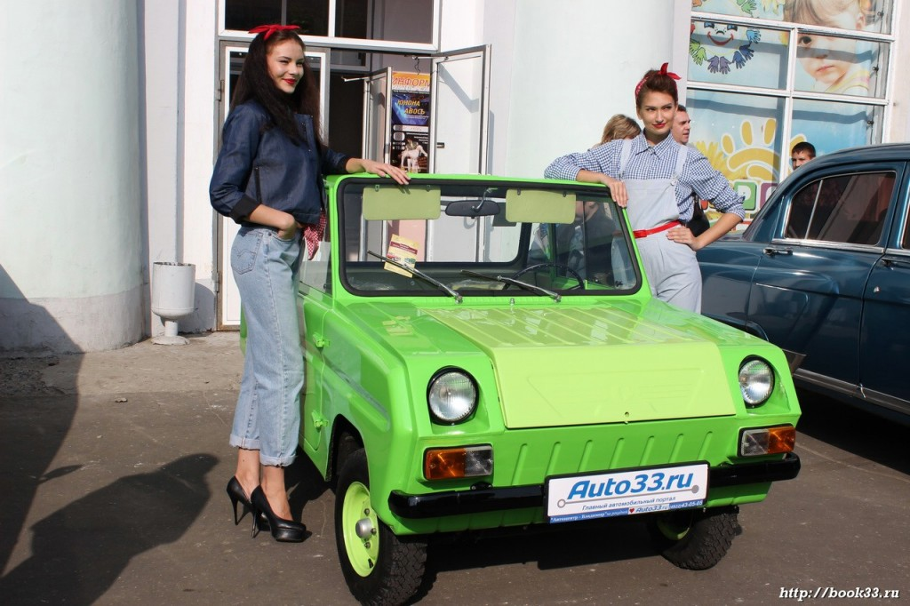 Ретро-автомобили Зеленая 5803