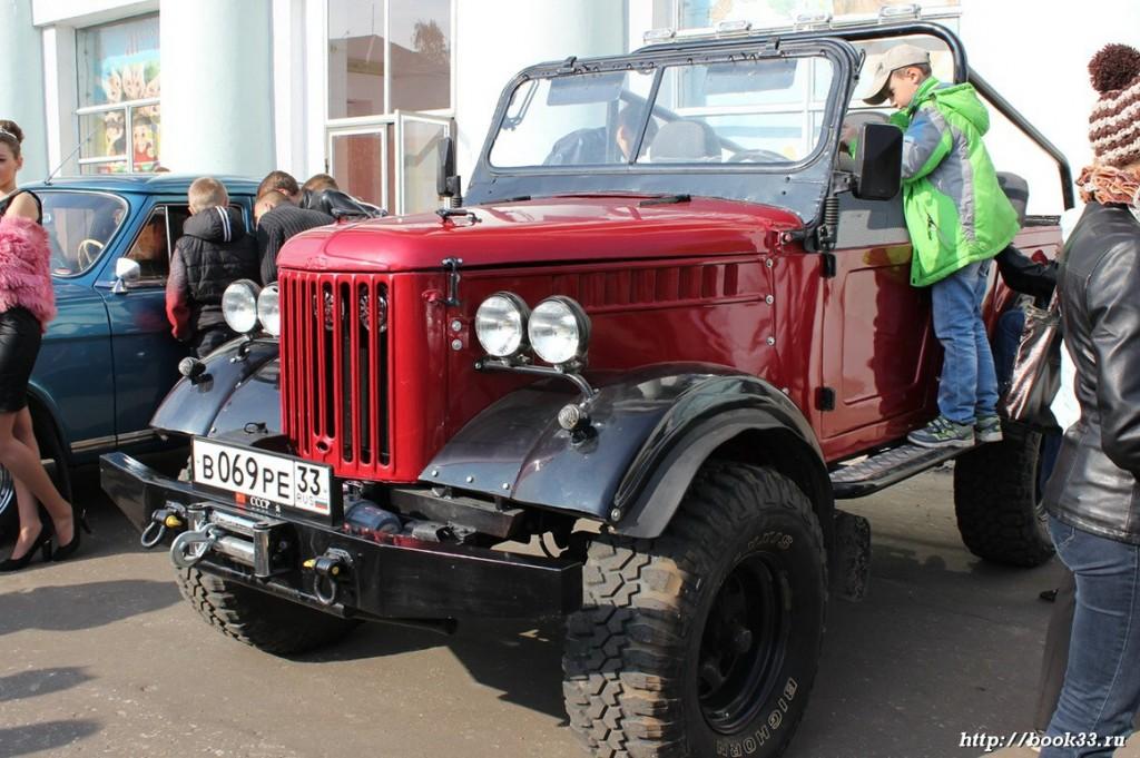 Ретро-автомобили Красный Джип 5821 VK 2