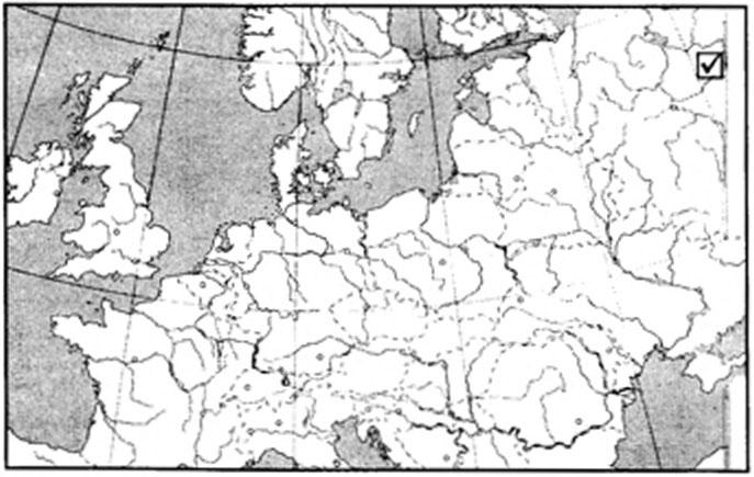 Рисунок 1.1 Местонахождение Сунгирьской стоянки