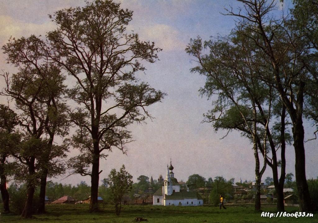Суздаль. Богоявленская летняя и Рождественская зимняя церкви XVIII в.