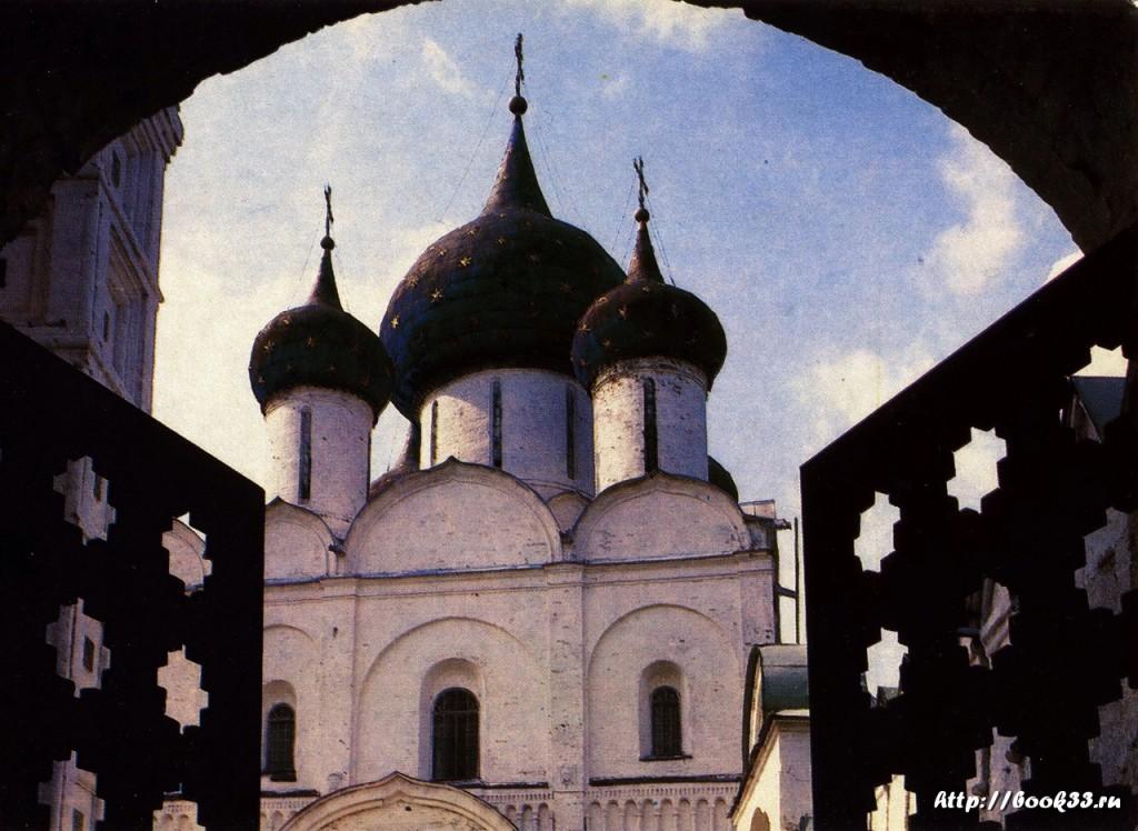 Суздаль. Рождественский собор XIII в.