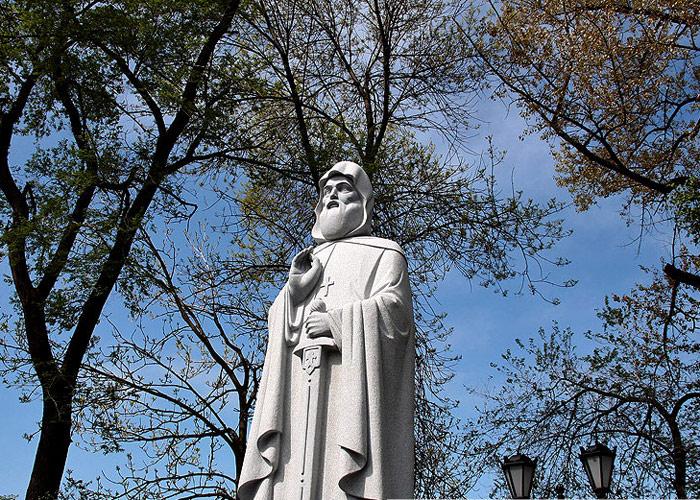 Памятник Илье Муромцу. Город Владивосток