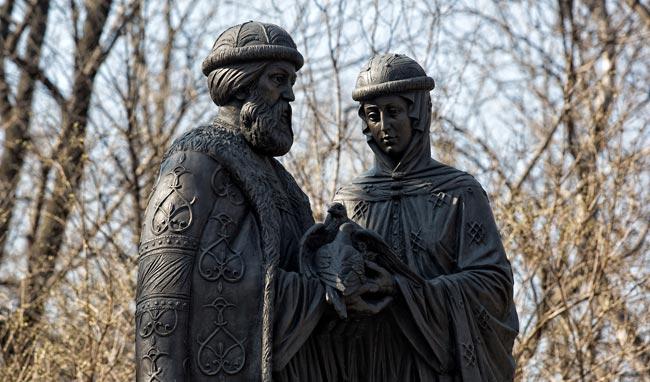 Петр и Феврония. Город Владивосток