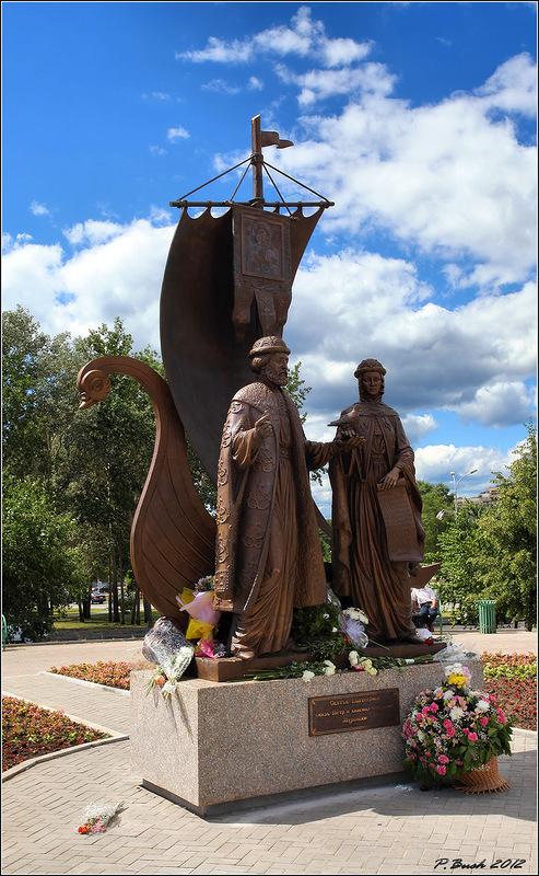 Петр и Феврония в Екатеринбурге. Фотограф - p-vld