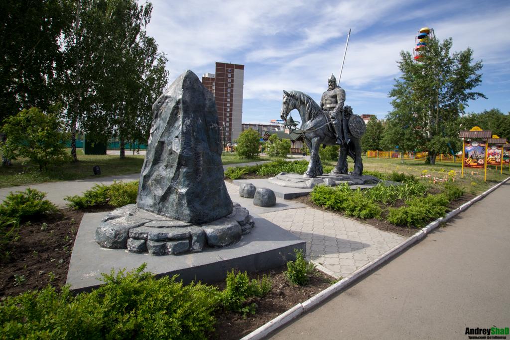 Таганский Парк. Памятник «Илья Муромец на распутье». Фотограф -AndreyShaD
