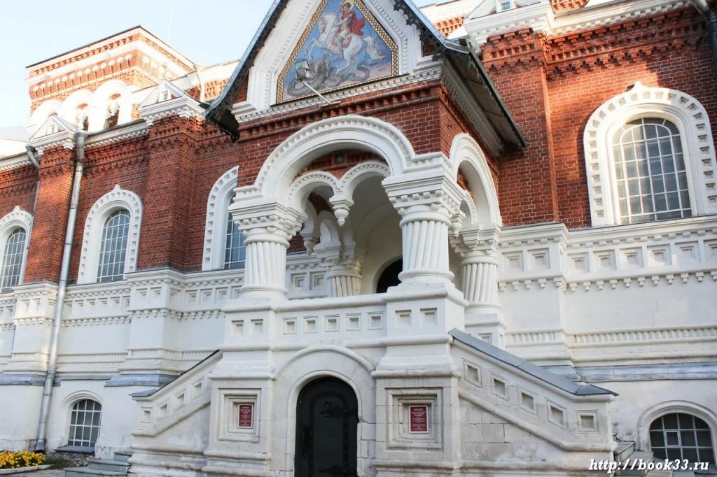 Георгиевский собор в Гусь-Хрустальном. Декоративные элементы