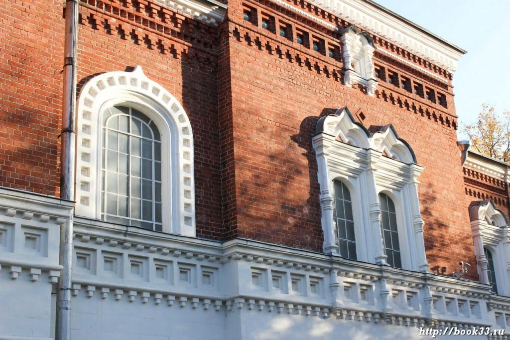 Георгиевский собор в Гусь-Хрустальном. Наличники на окнах