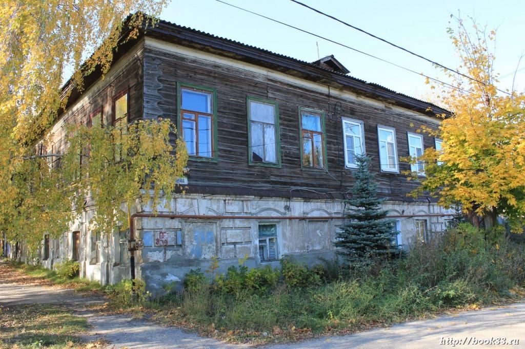 Муром, ул. Губкина, 11. Дом Соколова, 1900 г.