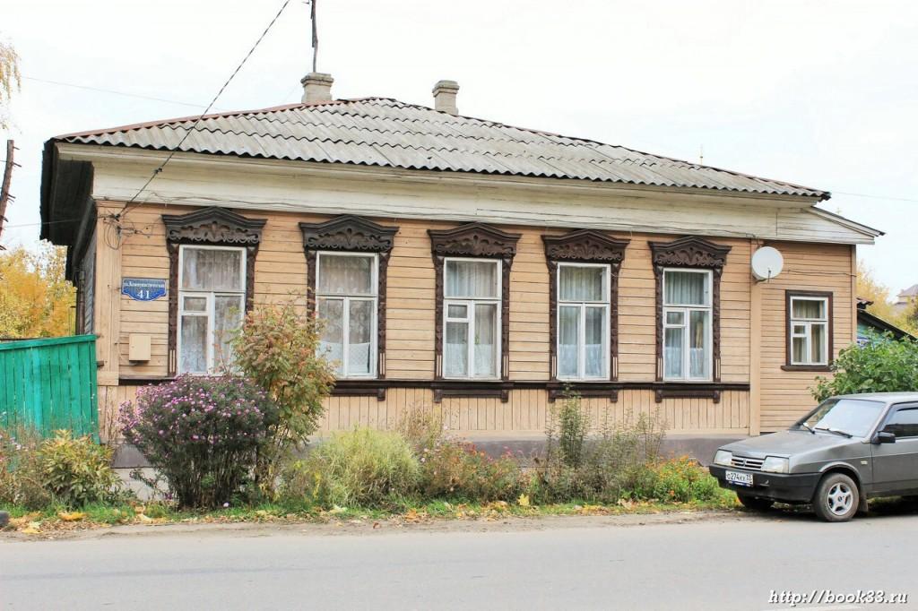 Муром, Коммунистическая 41. ДОМ АЛЕКСЕЕВЫХ, XIX В.