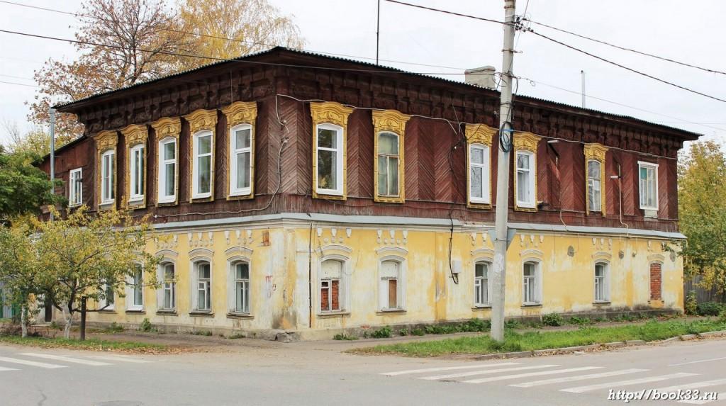 Муром, Коммунистическая 37 ДОМ НЕХОРОШЕВА, 1880 Г.