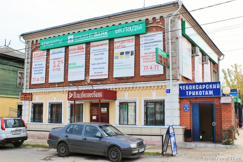 Муром, улица Советская 6. ДОМ ЖИЛОЙ, ХХ В.