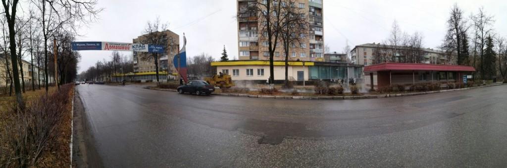 Благоустройство поселка Вербовский
