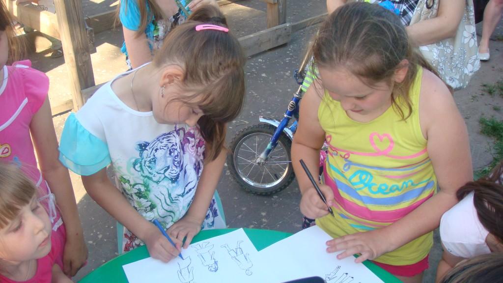 День защиты детей на Вербовском 15